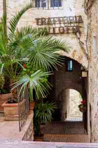 Eat at Trattoria Pallota, Assisi - www.lauraenroute.com