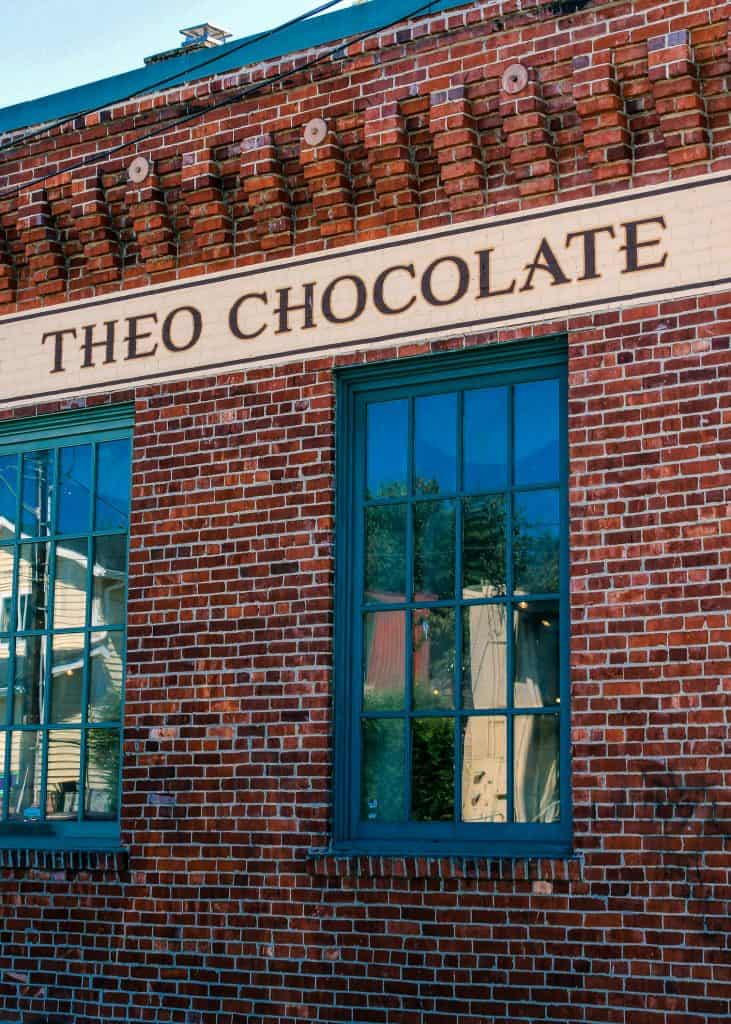 Theo Chocolate, Fremont, WA - www.lauraenroute.com