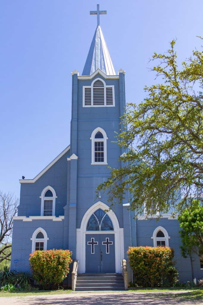 Trinity Lutheran Church, Stonewall, TX