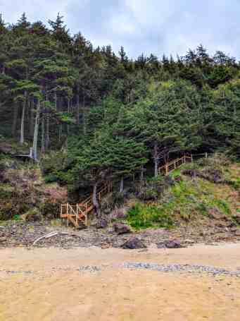 Ecola State Park, Crescent Beach Trail