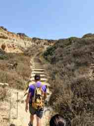 Beach Trail - Hiking Torrey Pines: San Diego's Natural Reserve - www.lauraenroute.com