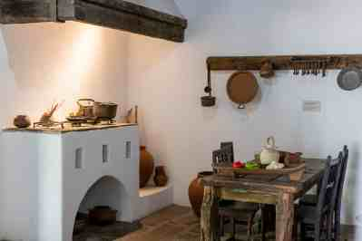 Kitchen- Spanish Governor's Palace - History in Downtown San Antonio, Texas