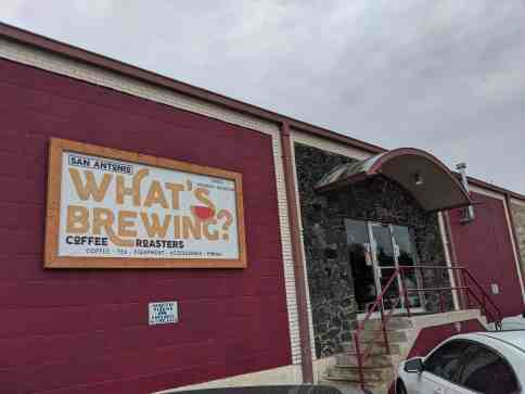 WhatsBrewingCoffeeCo-Coffee Shops in San Antonio - Laura En Route