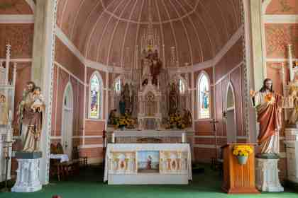 Painted Churches of Texas - St. John the Baptist- Laura En Route