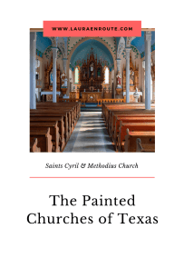 St Cyril and Methodius - The Painted Churches of Texas - www.lauraenroute.com