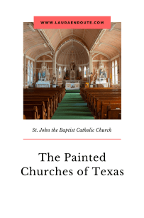 St John the Baptist Catholic Church - The Painted Churches of Texas - www.lauraenroute.com