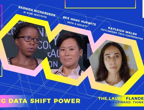 Making Data Shift Power Bex Hong Hurwitz and Rashida Richardson