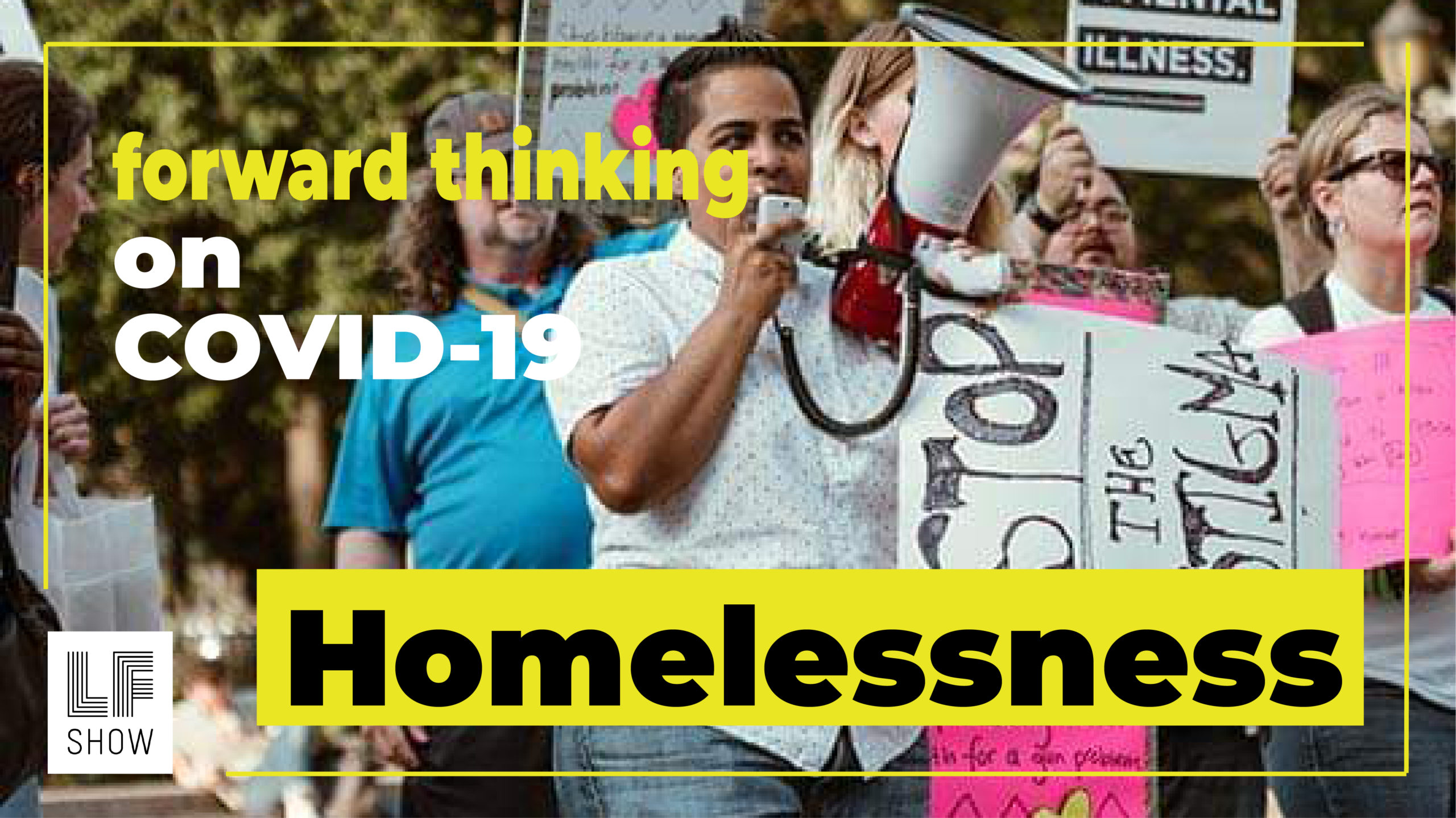 The homeless can't stay home
