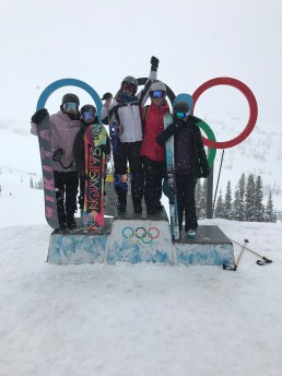Whistler hosted some events at the Winter Olympics 2010!