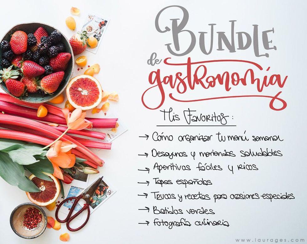 mis favoritos bundle gastronomia