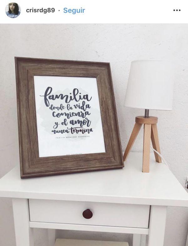 láminas personalizadas familia