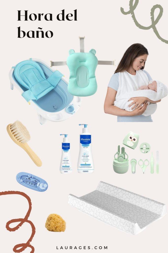 cosas de aseo para bebe
