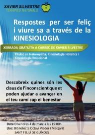 Cartel Conferencia Kinesiología