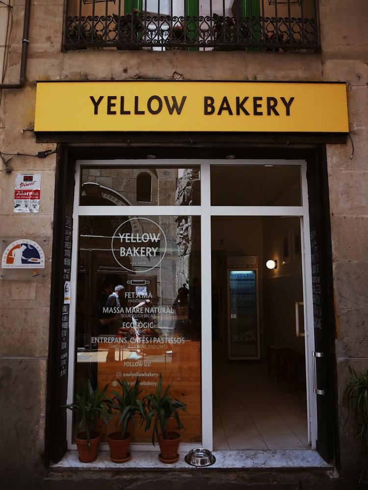 Yellow Bakery Barcelona