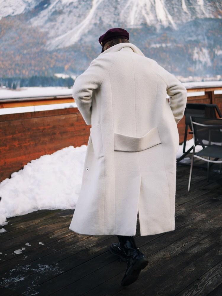 Wintertrend 2017 Weißer Mantel