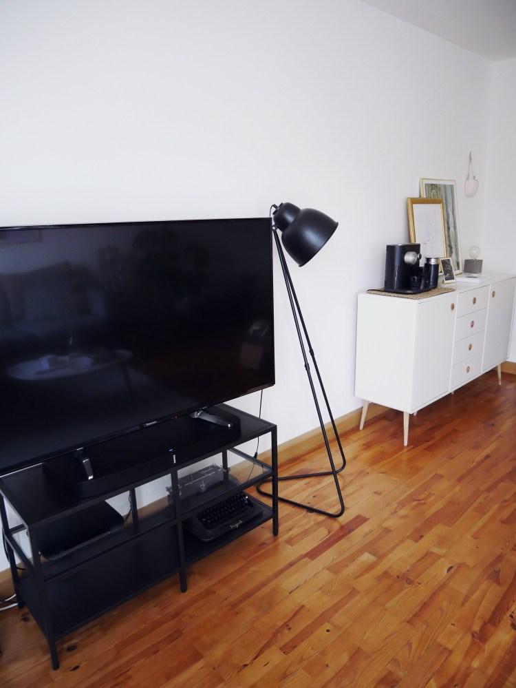 Wohnzimmer Panasonic TV