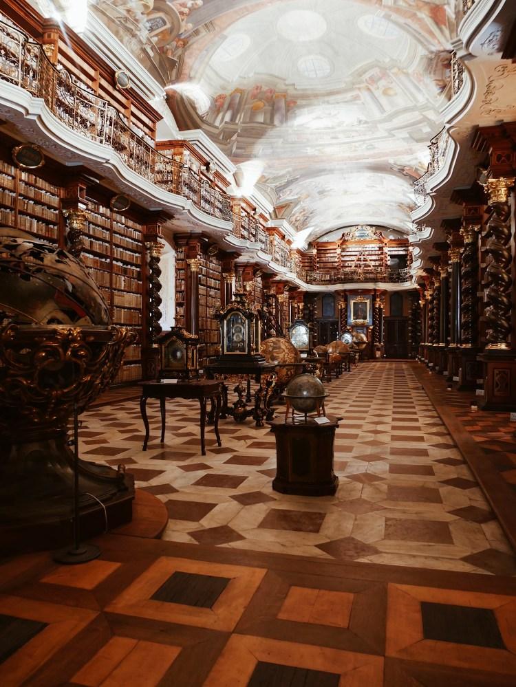 Klementinum Barocker Bibliotheksaal