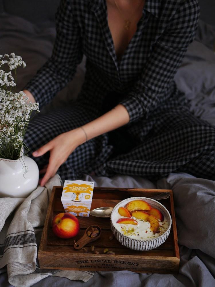 Das perfekte Frühstück im Bett mit Coconut Collaborative
