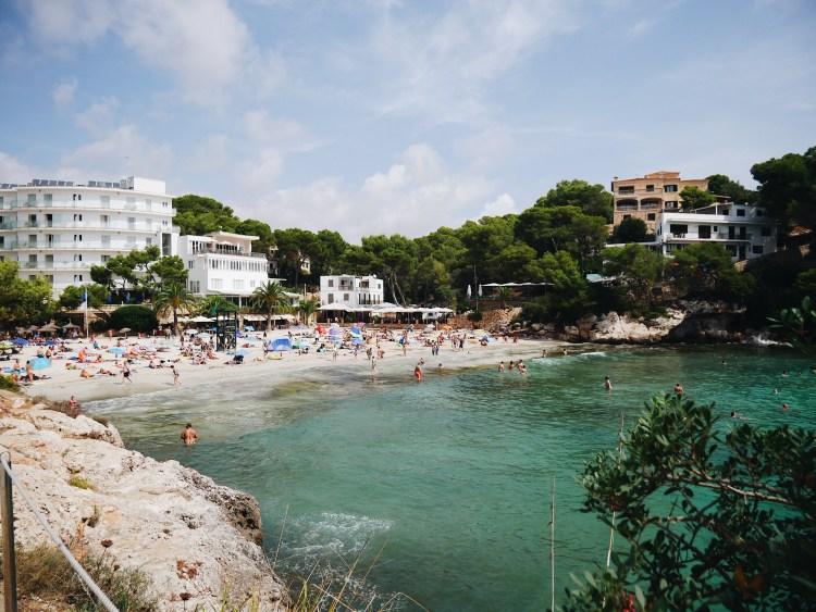 Die drei schönsten Buchten Mallorcas Cala Santanyi