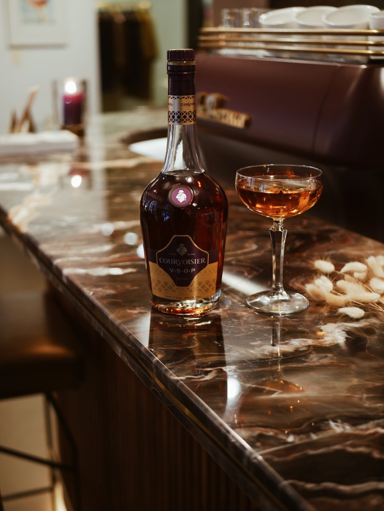 Courvoisier Champagner Cocktail