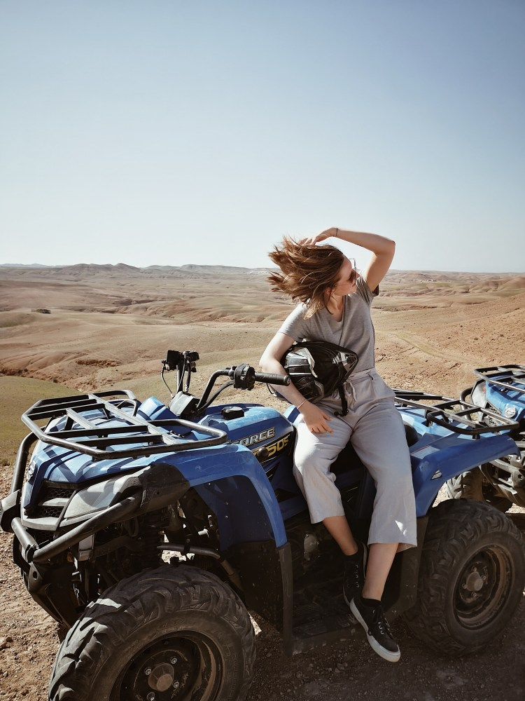 Quadbiking Scarabeo Camp Agafay Desert