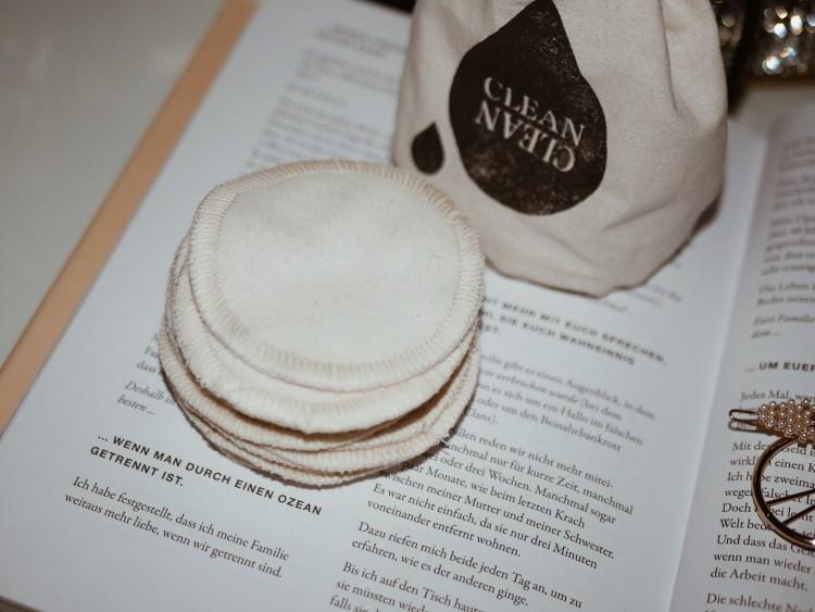 Wattepads aus Baumwolle