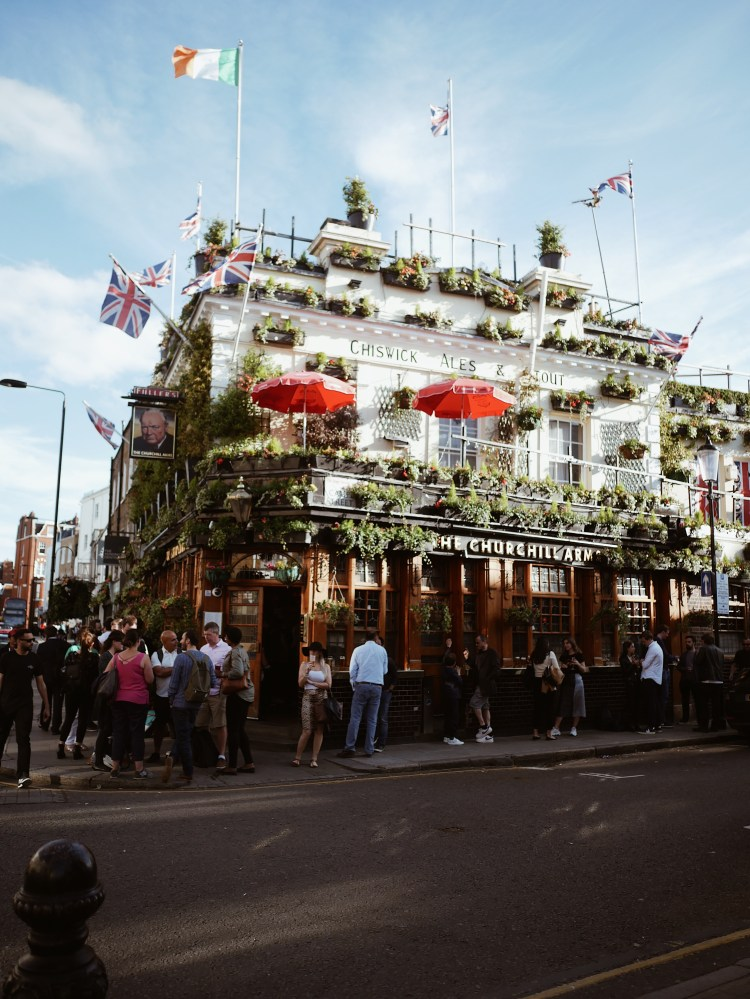 The Churchill Arms London