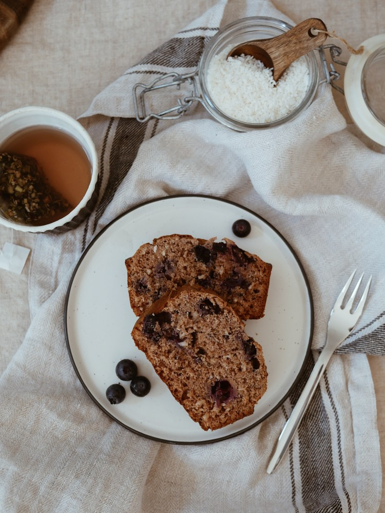 Sugar-free blueberry bread