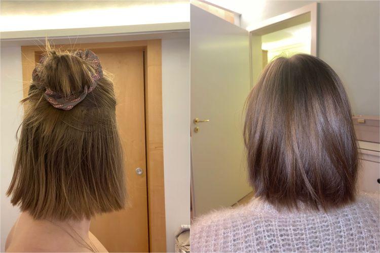 Vorher Nachher fettige Haare