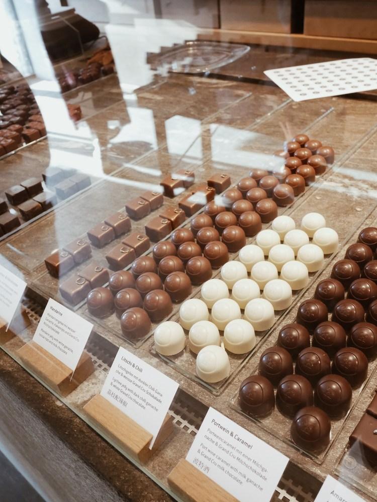 Schokoladen-Tasting bei Max Chocolatier