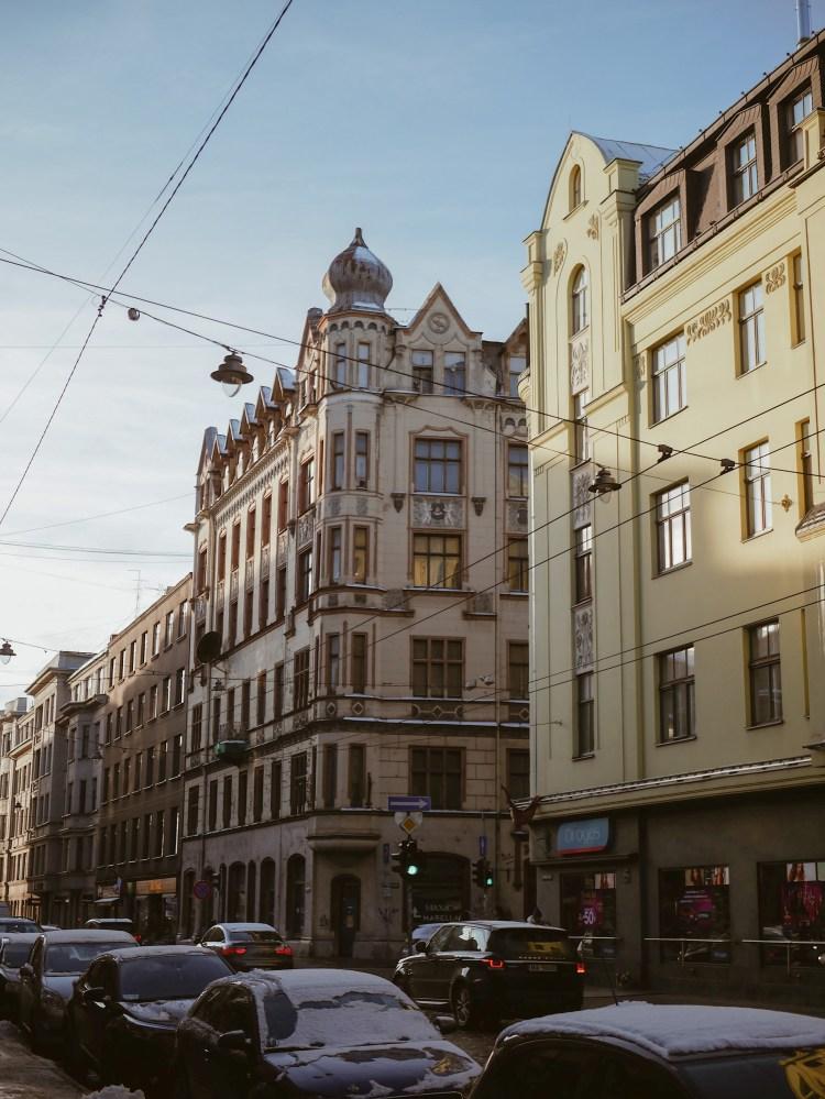 Jugendstil Häuser Riga