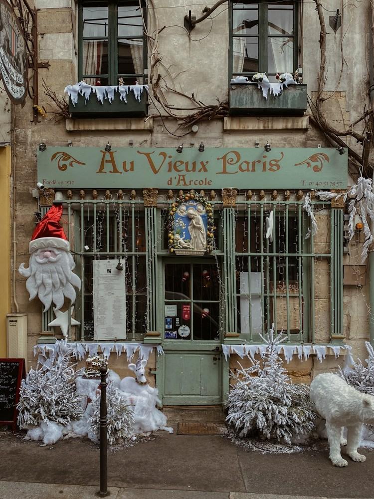Au Vieux Paris d'Arcole Paris, France