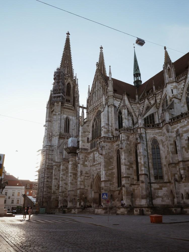 Deutschlandreise Regensburg Dom