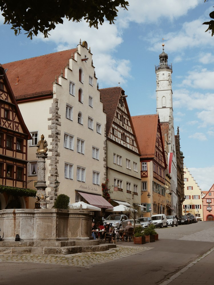 Rothenburg ob der Tauber Café einzigARTig