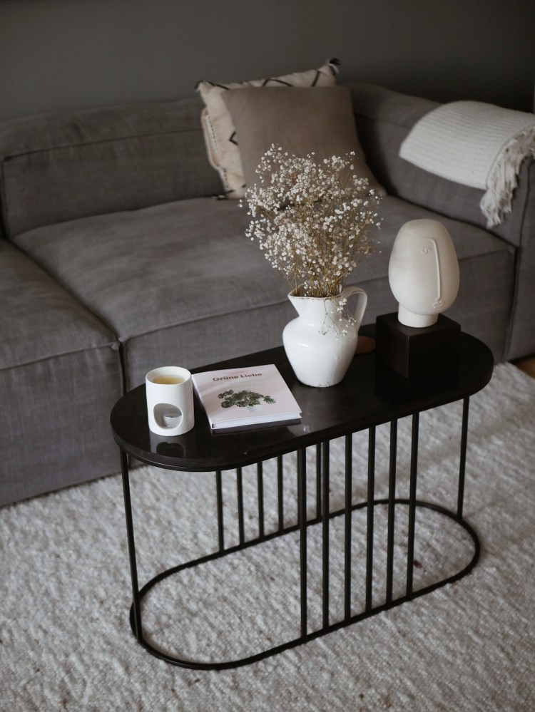 Wohnzimmer Bolia Marmor Couchtisch