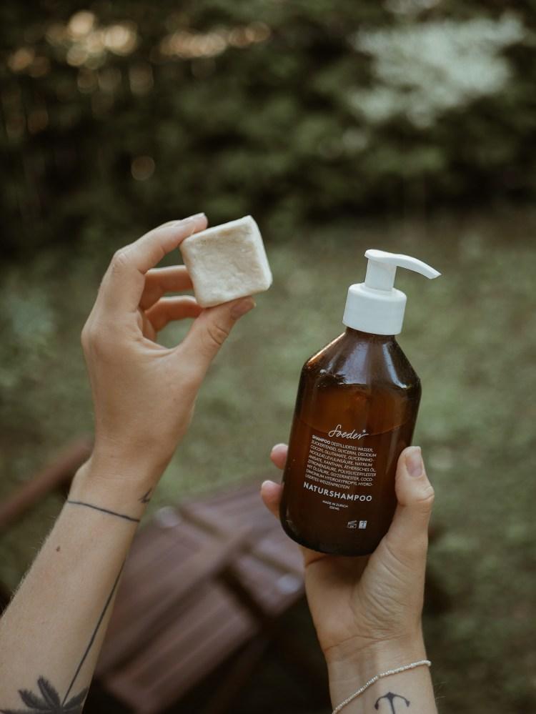 Festes Shampoo vs. flüssiges Shampoo