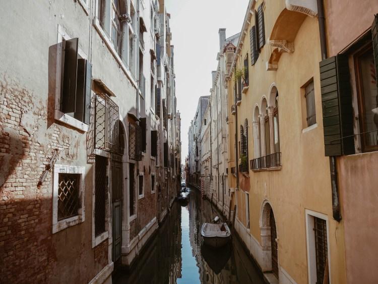 Venedig Kanal Altstadt