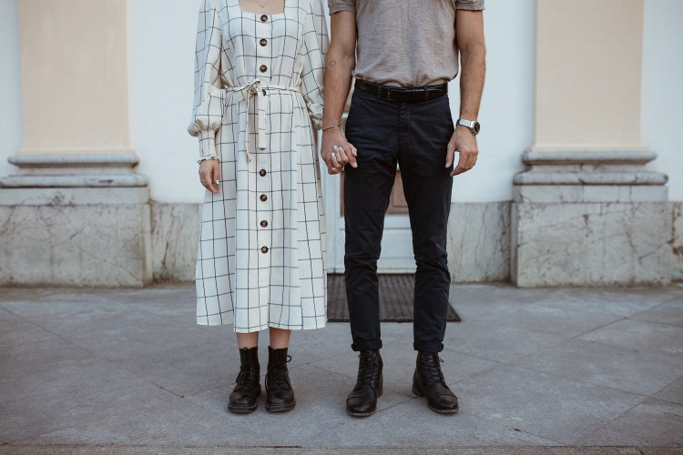 Couple Shoot Nymphenburger Schlosspark Muenchen