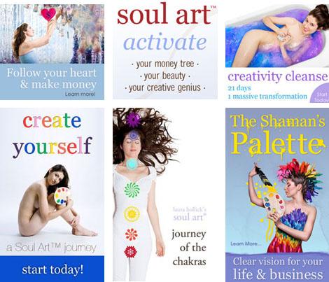 Soul Art Studio Website Renovation Sale
