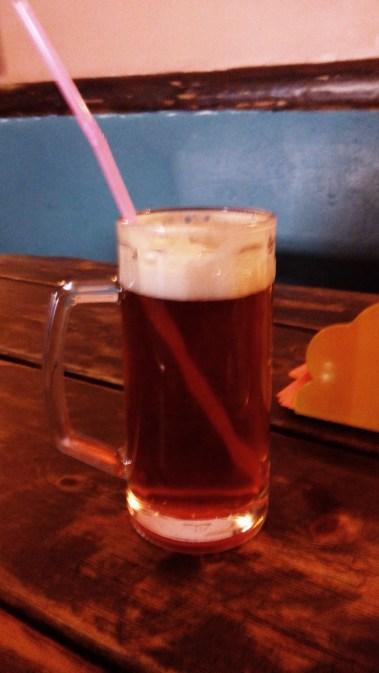Berliner Weiße auf litauische Art. Echtes Bier mit Sirup halt