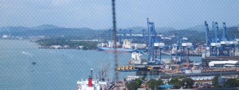 Der Panama-Kanal. Ein Bild für den Herrn Papa.
