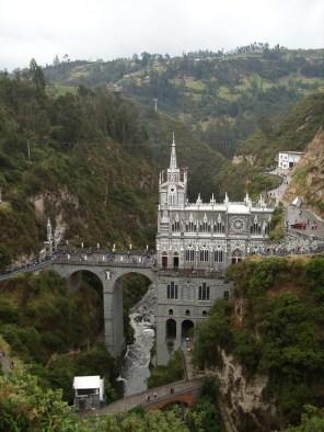 Die Kathedrale von Las Lajas