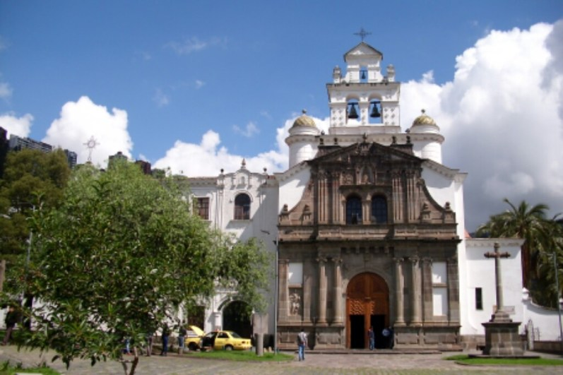 Kirche in Guápulo