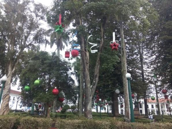Weihnachtsdeko überall in rauen Mengen