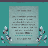 Friday Fun Fact: the Etruscans and Metalwork