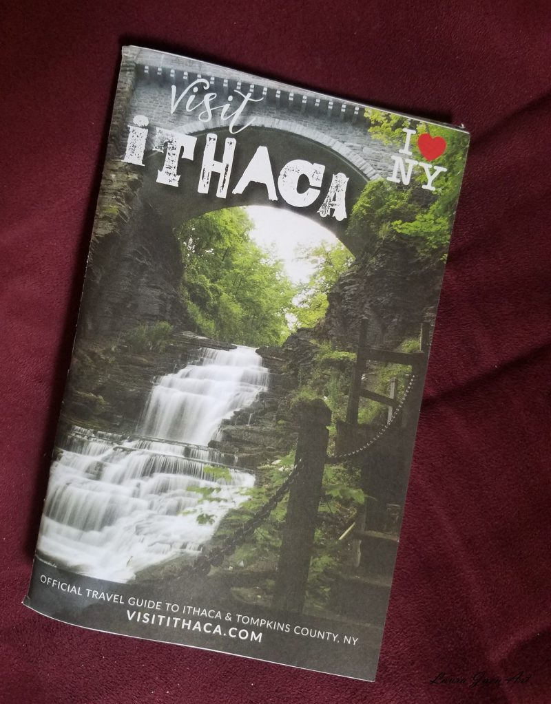 Photo of visit Ithaca guidebook
