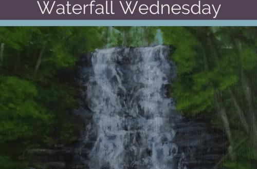 Waverly Glen Waterfall Wednesday blog cover
