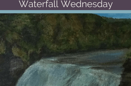 Middle Falls Letchworth State Park Waterfall Wednesday blog cover
