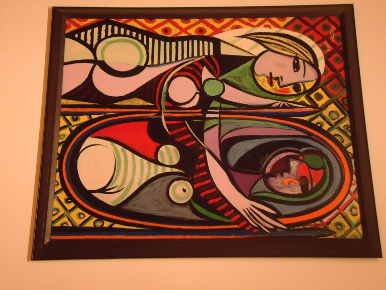 Photo of Girl Before a Mirror by Picasso