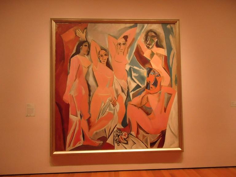 Photo of Les Demoiselles d'Avignon by Picasso